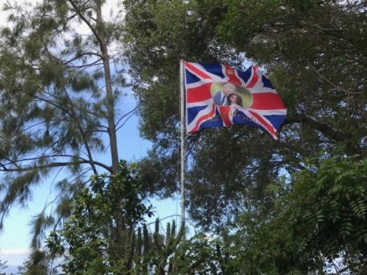 meghan harry flag